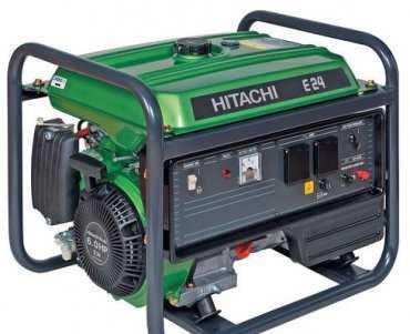 Бензиновый генератор Hitachi E24 бу
