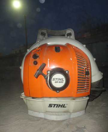 Воздуходувное устройство stihl (штиль) BR 500