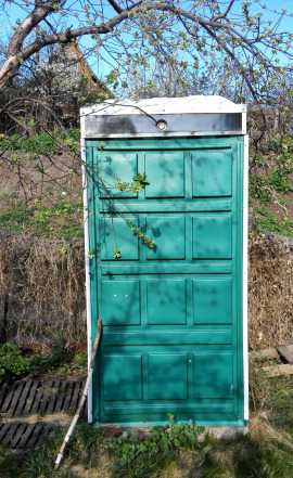 Душ для дачи, садовый, туалет, хозблок, пластик
