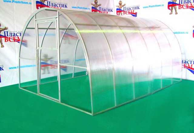 Теплицы Народная(шаг дуг 1 метр) длина 6 метров
