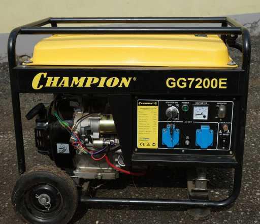 Бензиновый генератор Champion GG7200E