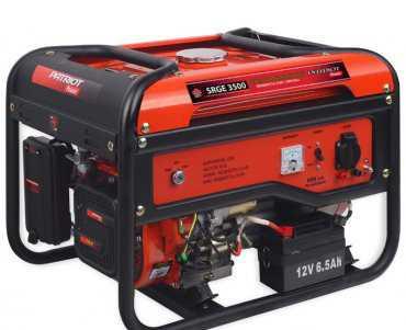 Бензиновый генератор патриот srge3500 (новый)