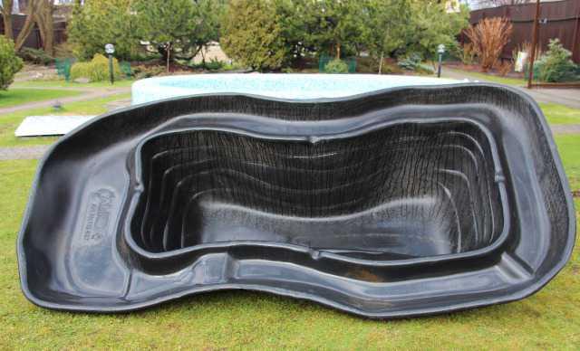 Пластиковый (пластмассовый) пруд бассейн для дачи