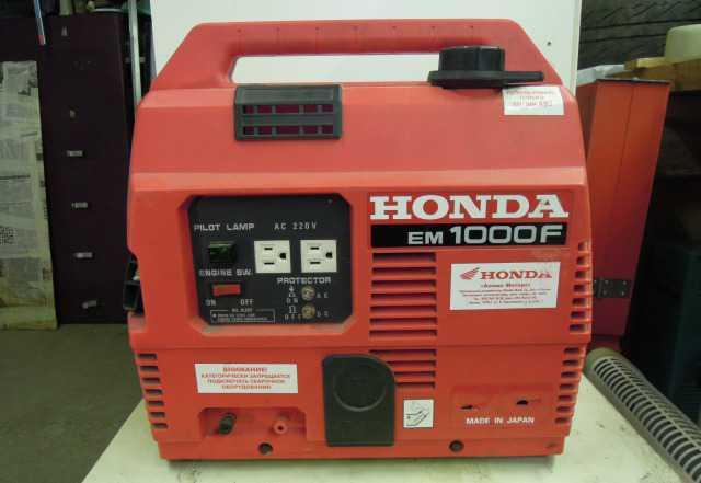 Бензогенератор хонда EM 1000F