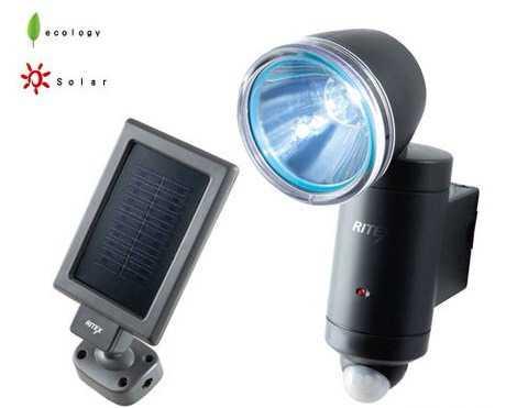 Сенсорные лампы на солнечных батарейках