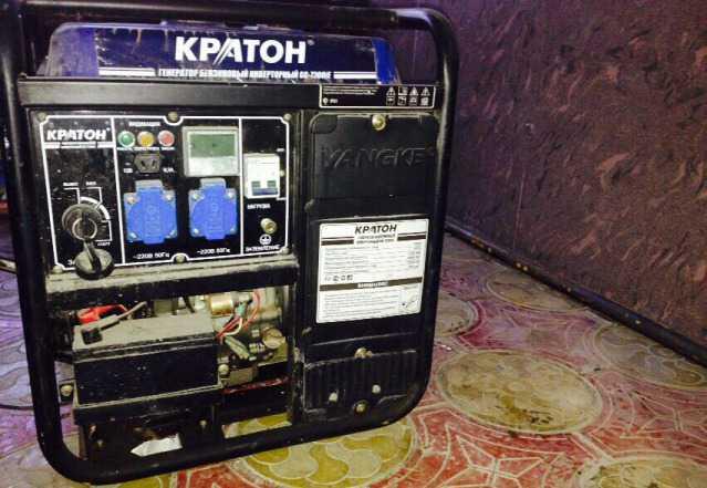 Бензиновый генератор Кратон