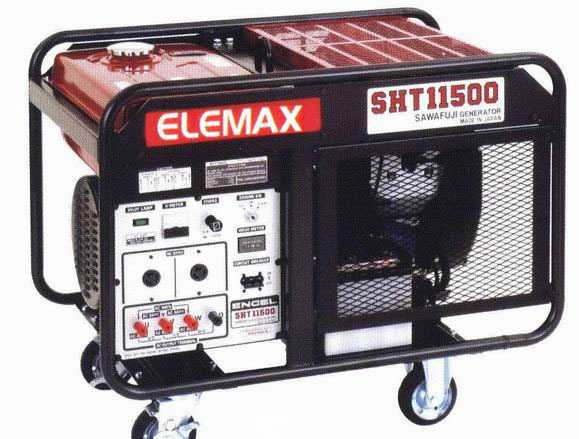 Продам трехфазный генератор Elemax SHT 11500-R