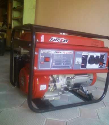 Бензогенератор BG-6500 5. -6. кВт, новый продам