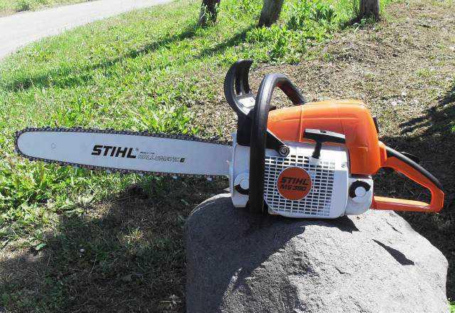 Профессиональная бензопила Stihl ms-390