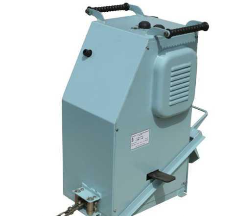 Электродвигатель от садовой лебедки