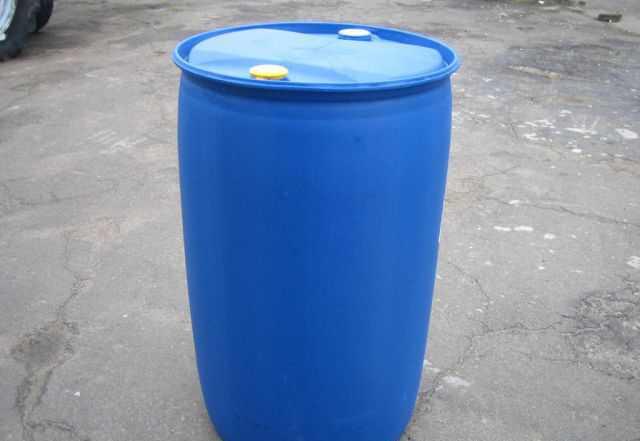 Пластиковая бочка 250 л б/у