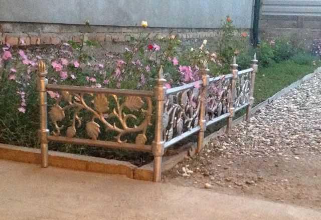 Алюминиевая ограда