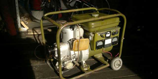 Бензогенератор аб-2