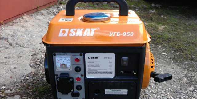 Генератор бензиновый скат угб-950