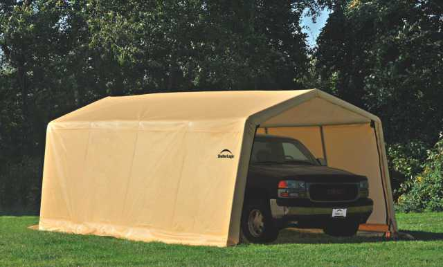 Тентовый гараж Shelter Logic 3x6x2.4 м