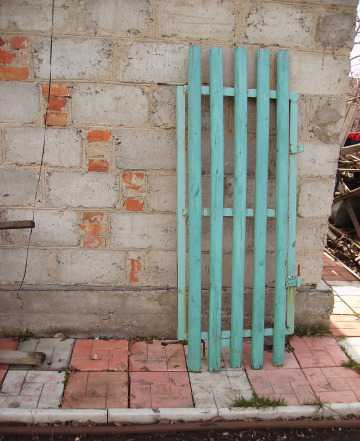 Калитка для дачи или частного дома