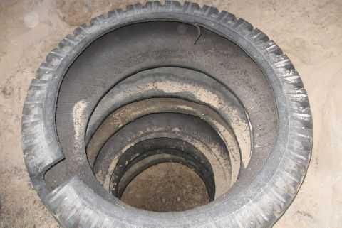 Кольца (колеса) для канализации