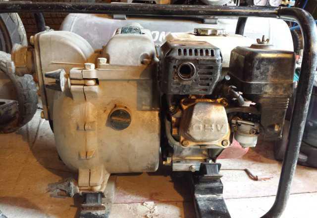 Мотопомпа Хонда WT20X грязевая. профессиональная