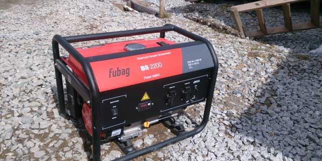 Генератор Fubag BS2200 (электростанция бензиновая)