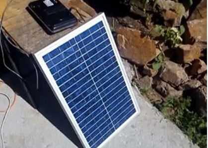 Солнечная батарея 25 ватт (Германия)