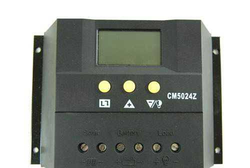 Контроллер заряда 50А 12/24В
