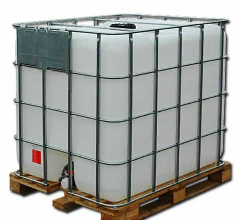 Бочка бак 1000 литров (еврокуб, кубовик) в Туле