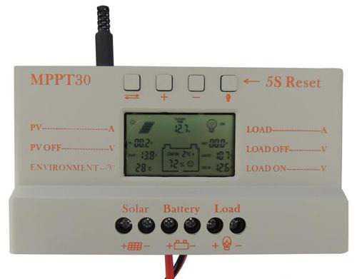 30A mppt контроллер заряда солнечной батареи 12/24
