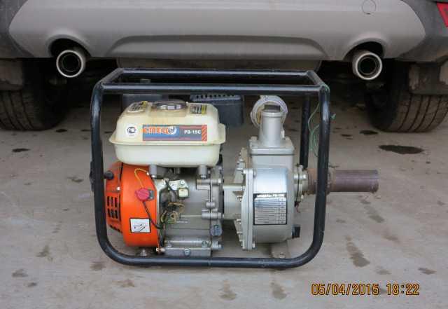 Мотопомпа бензиновая рв-15С