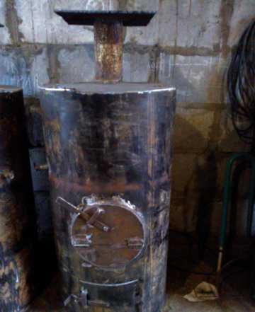 Печка финка в баню