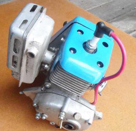 Картер двигателя для крота