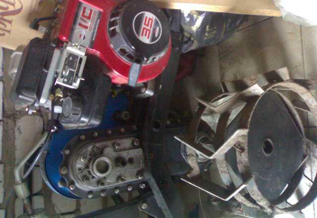 Мотокультиватор мк - 100