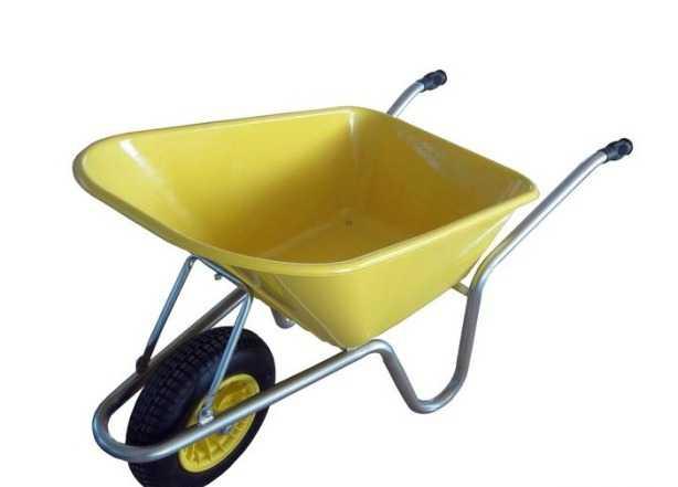Тачка садово-строительная, грузоподъемность 150 кг