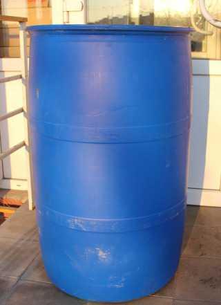 Бочка пластиковая 227 литров (б/у) пищевая