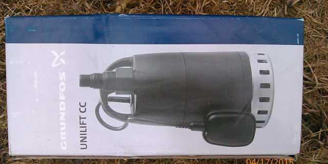Насос дренажный Grundfos продам