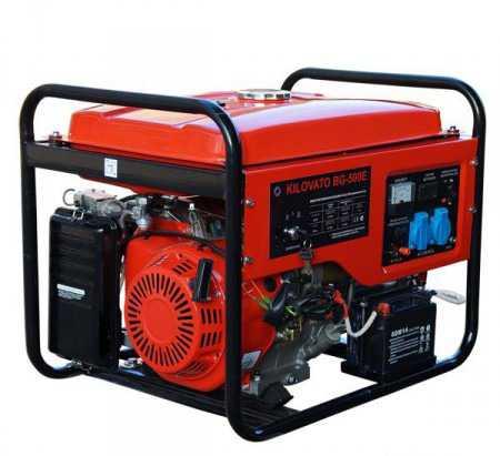 Генератор kilovato BG-500E (5кВатт) бензин/газ