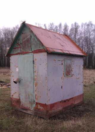 Садовый домик - вагончик