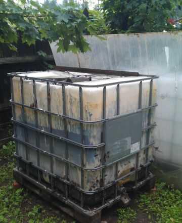 Пластиковая емкость, куб, 1000м3
