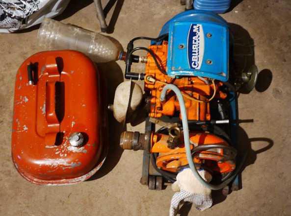 Мотопомпа Свияга-М, бензин 2цил