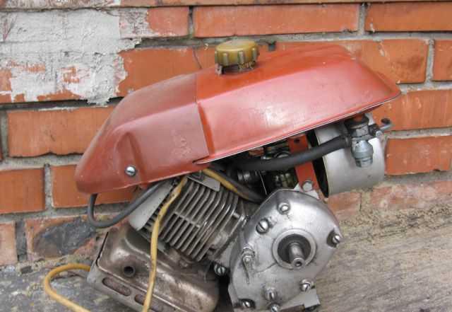 Двигатель 2.7 л. с. для крота