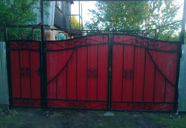Ворота въездные, дачные