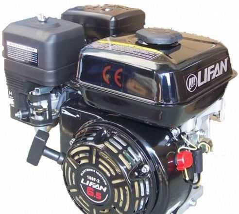 Двигатель Лифан 168 F2 (6.5 л. с) для мотоблока