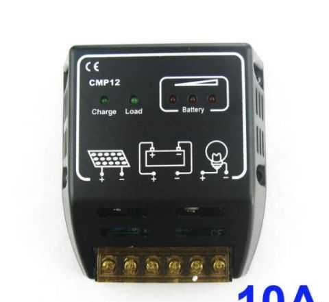 Солнечный контроллер 10A 12V 24 Vol