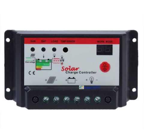 Контроллер заряда для солнечных батарей solar 30А