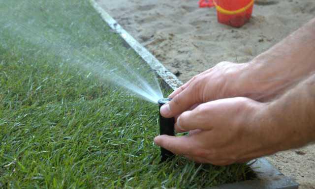 Автоматический полив газонов и растений