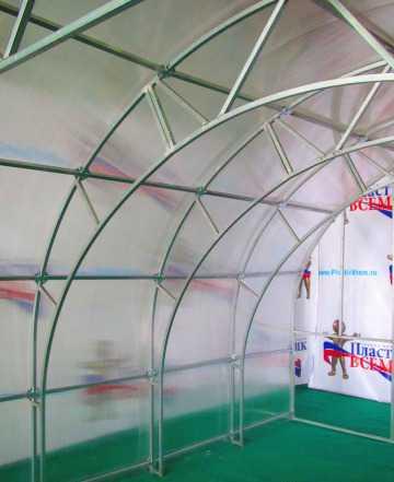 Феремерская теплица Эверест длина 4 метров