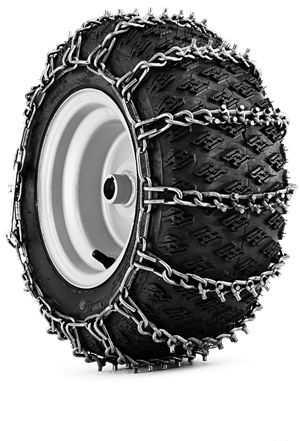 """Цепи на трактор Huskvarna для колес 20x10-8"""""""