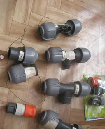 Cоединители 3/4 для системы водоснабжения