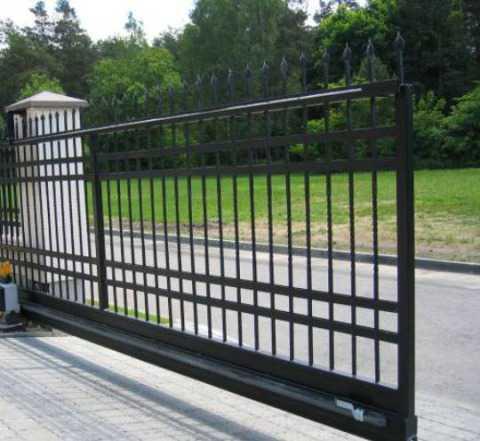 Автоматика на откатные и распашные ворота
