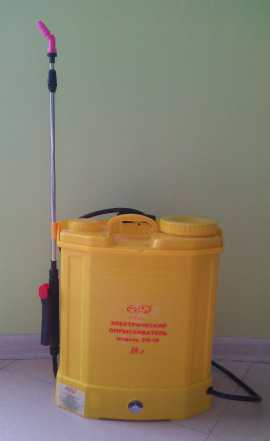 Продам электрический аккумуляторный опрыскиватель