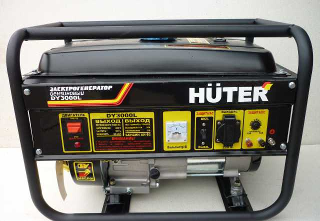Бензиновая электростанция Huter DY3000L
